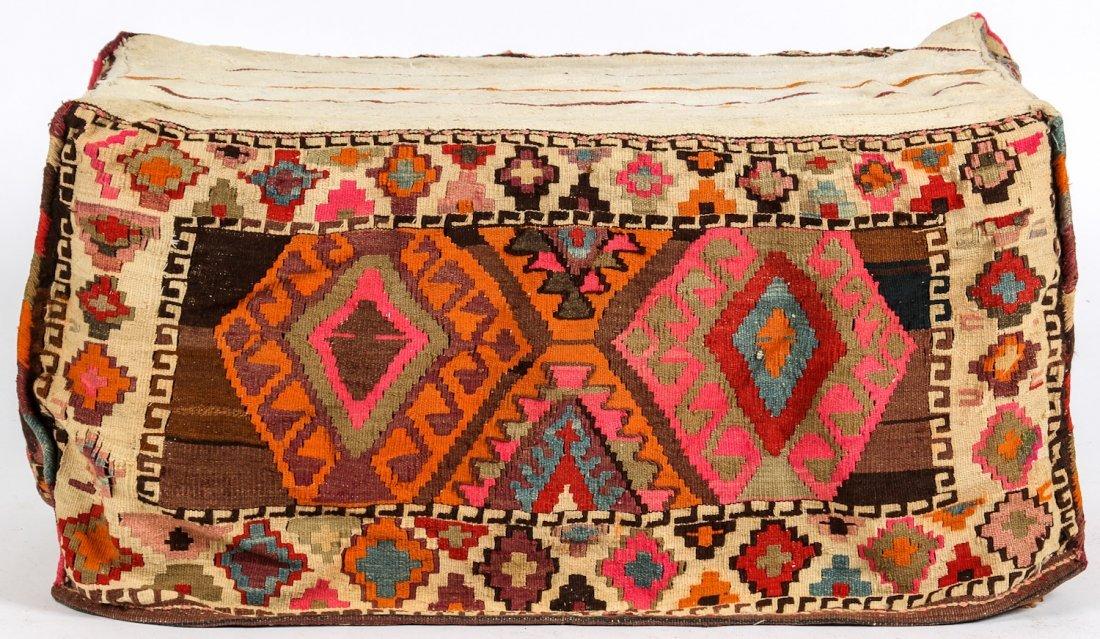 3 Semi-Antique West Persian Kilim Cradles (Besik) - 2