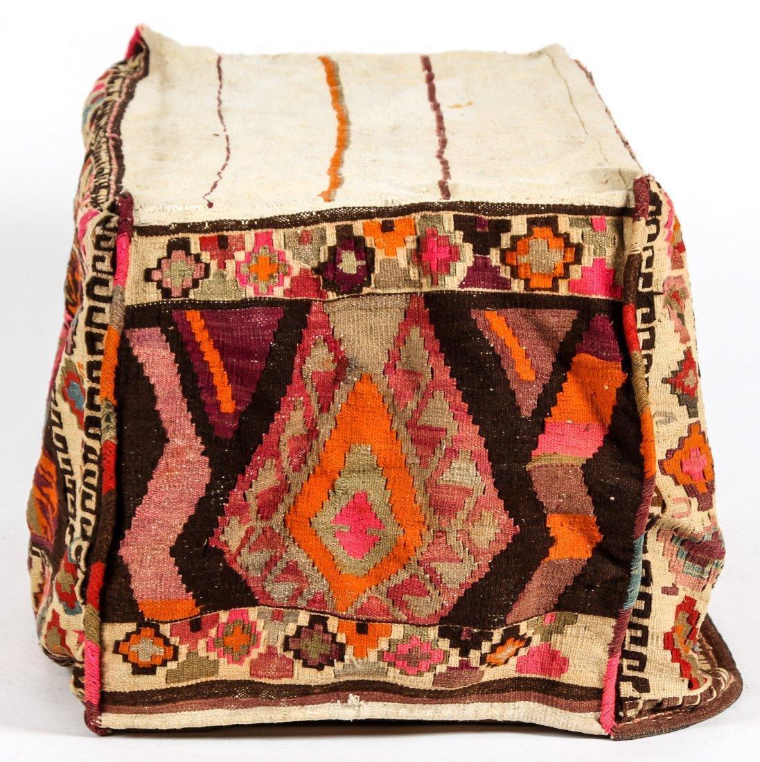 3 Semi-Antique West Persian Kilim Cradles (Besik) - 4