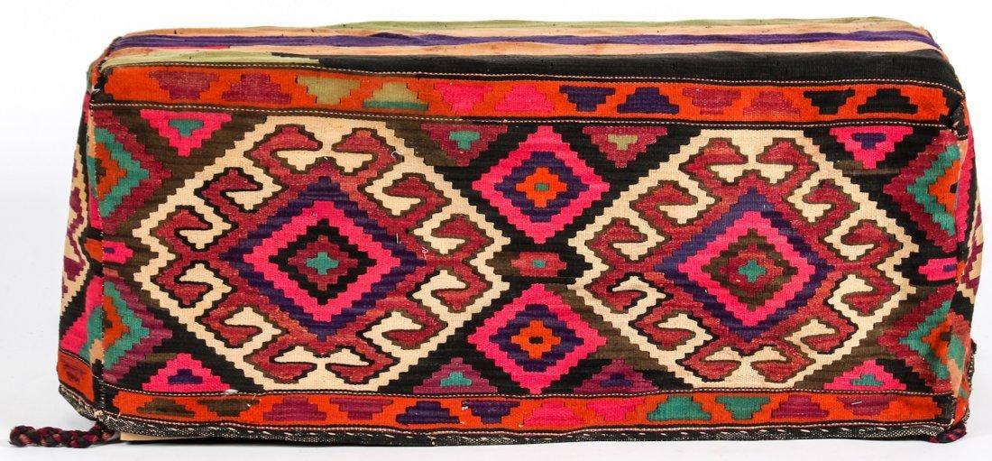3 Semi-Antique West Persian Kilim Cradles (Besik) - 5