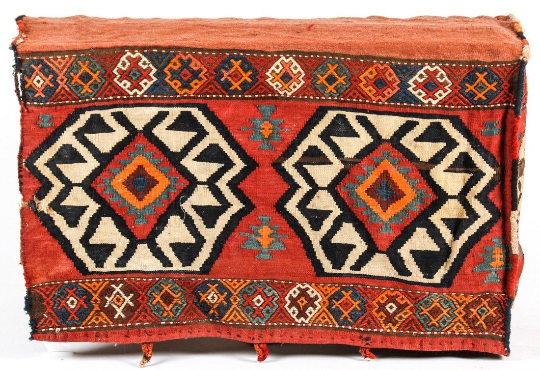 3 Semi-Antique West Persian Kilim Cradles (Besik) - 7