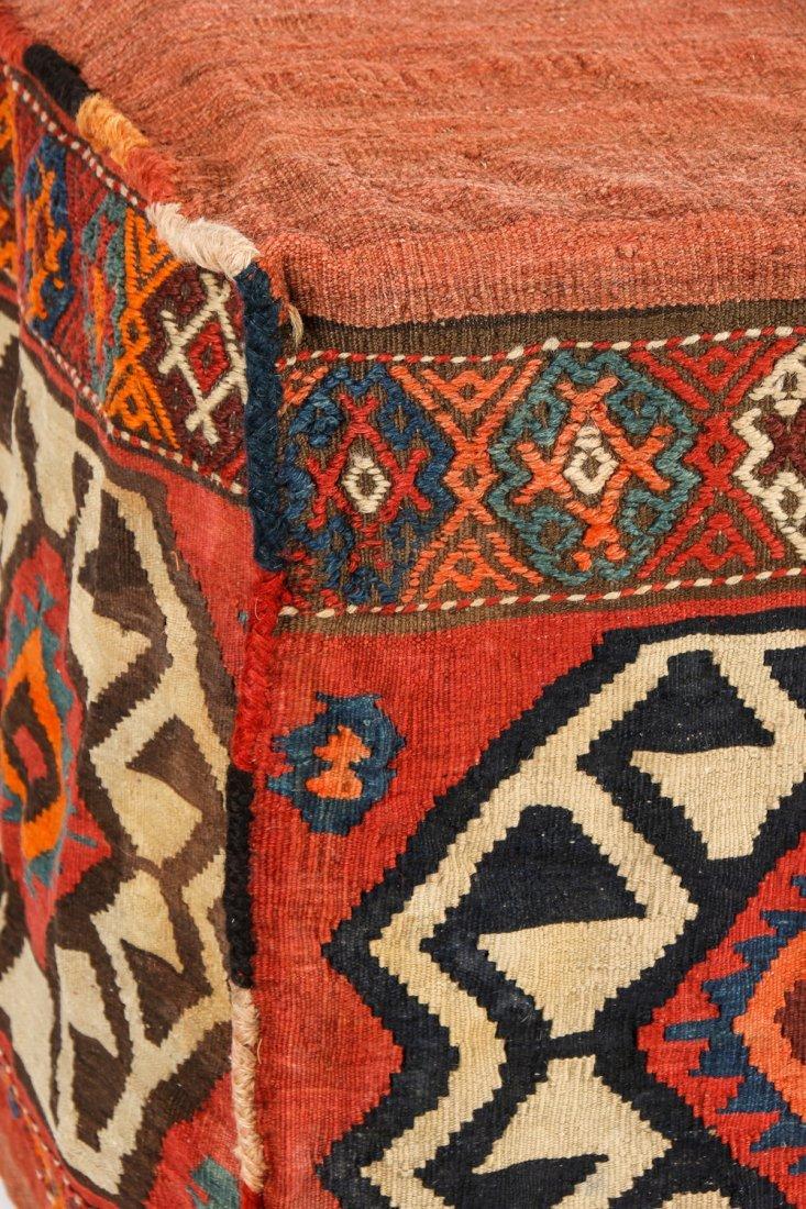 3 Semi-Antique West Persian Kilim Cradles (Besik) - 8