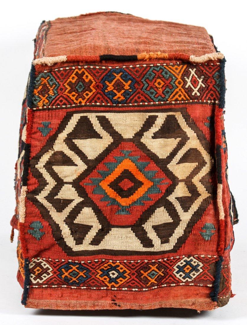 3 Semi-Antique West Persian Kilim Cradles (Besik) - 9