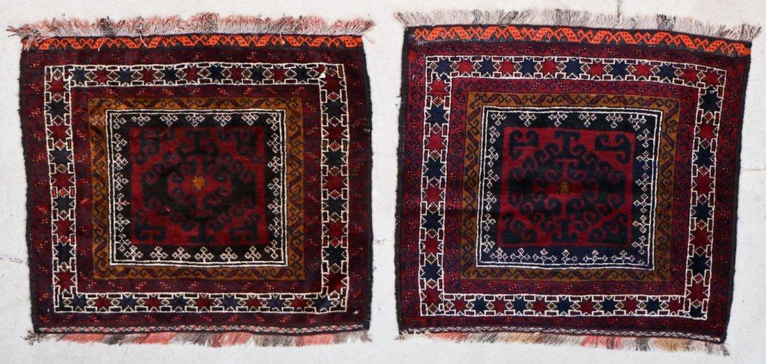 8 Semi Antique Persian/Afghan Bagfaces - 2