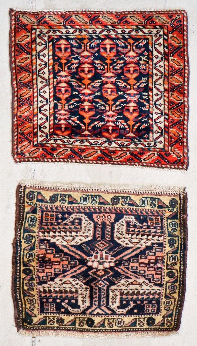 8 Semi Antique Persian/Afghan Bagfaces - 3