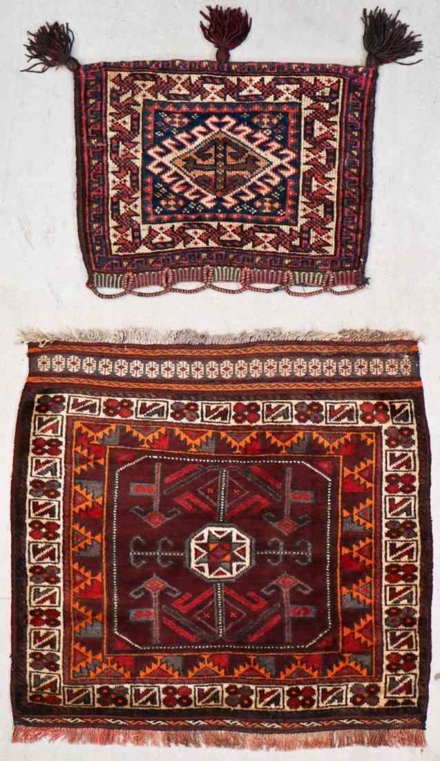 8 Semi Antique Persian/Afghan Bagfaces - 4