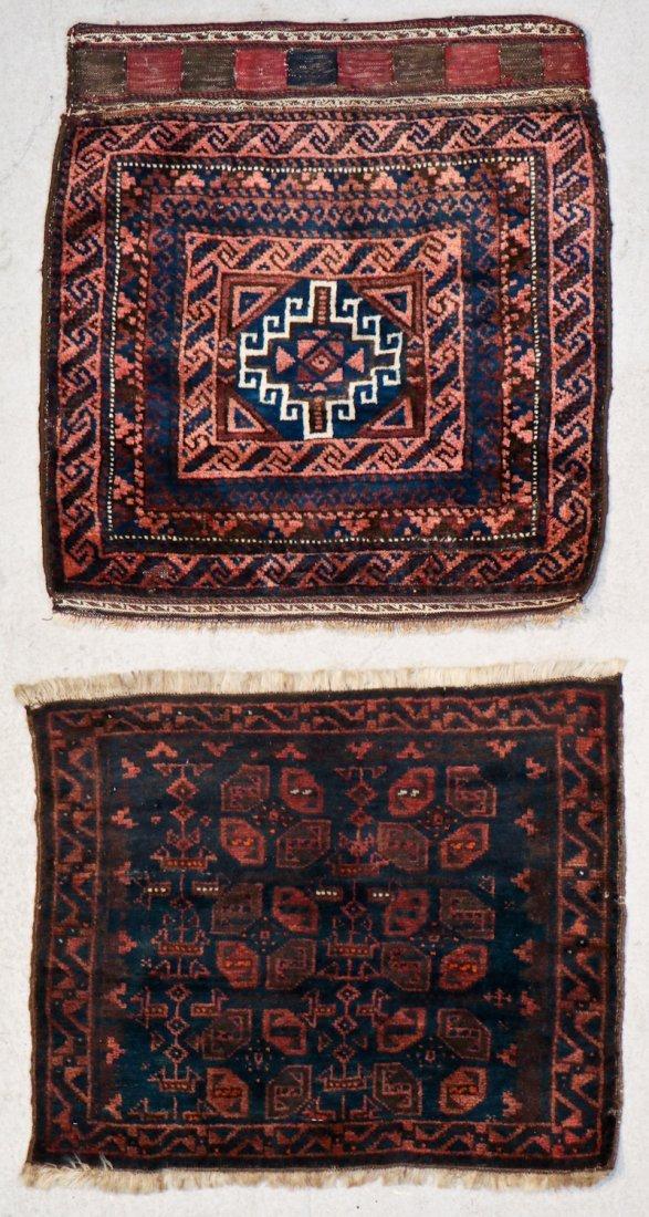 8 Semi Antique Persian/Afghan Bagfaces - 5
