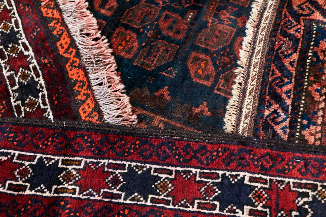 8 Semi Antique Persian/Afghan Bagfaces - 7