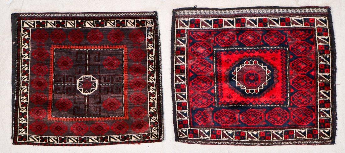 10 Semi-Antique/Vintage Afghan Bagfaces - 4