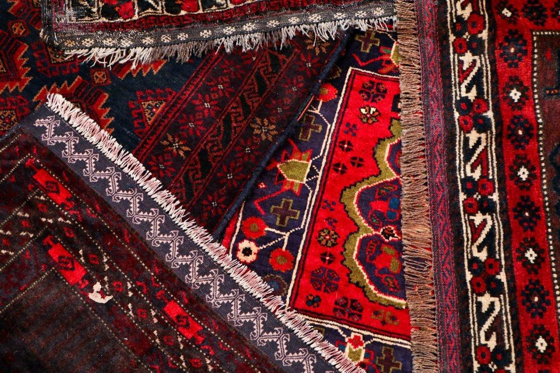 10 Semi-Antique/Vintage Afghan Bagfaces - 6