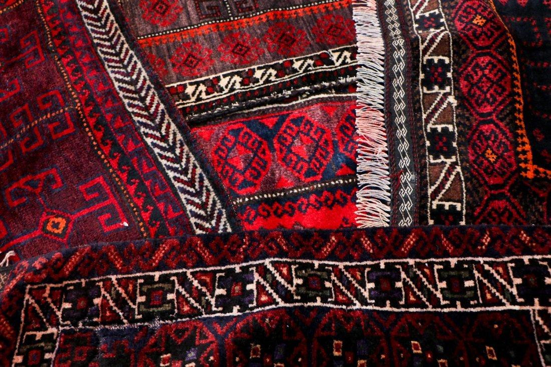 10 Semi-Antique/Vintage Afghan Bagfaces - 7