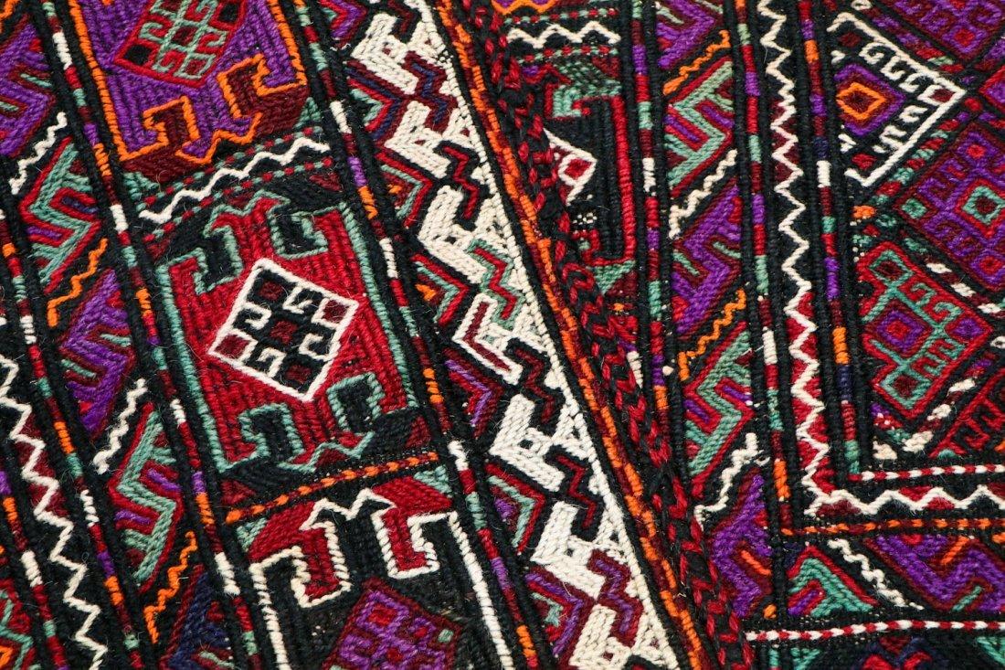 5 Semi-Antique & Vintage Persian Sumak Rugs - 5