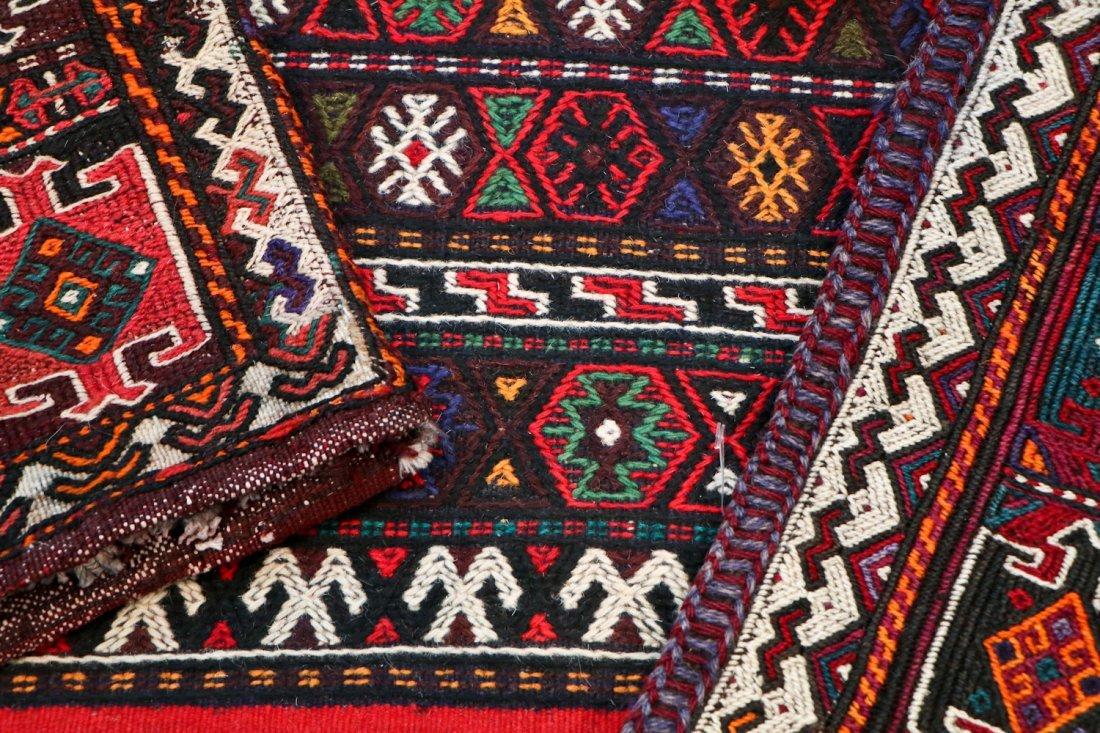 5 Semi-Antique & Vintage Persian Sumak Rugs - 6