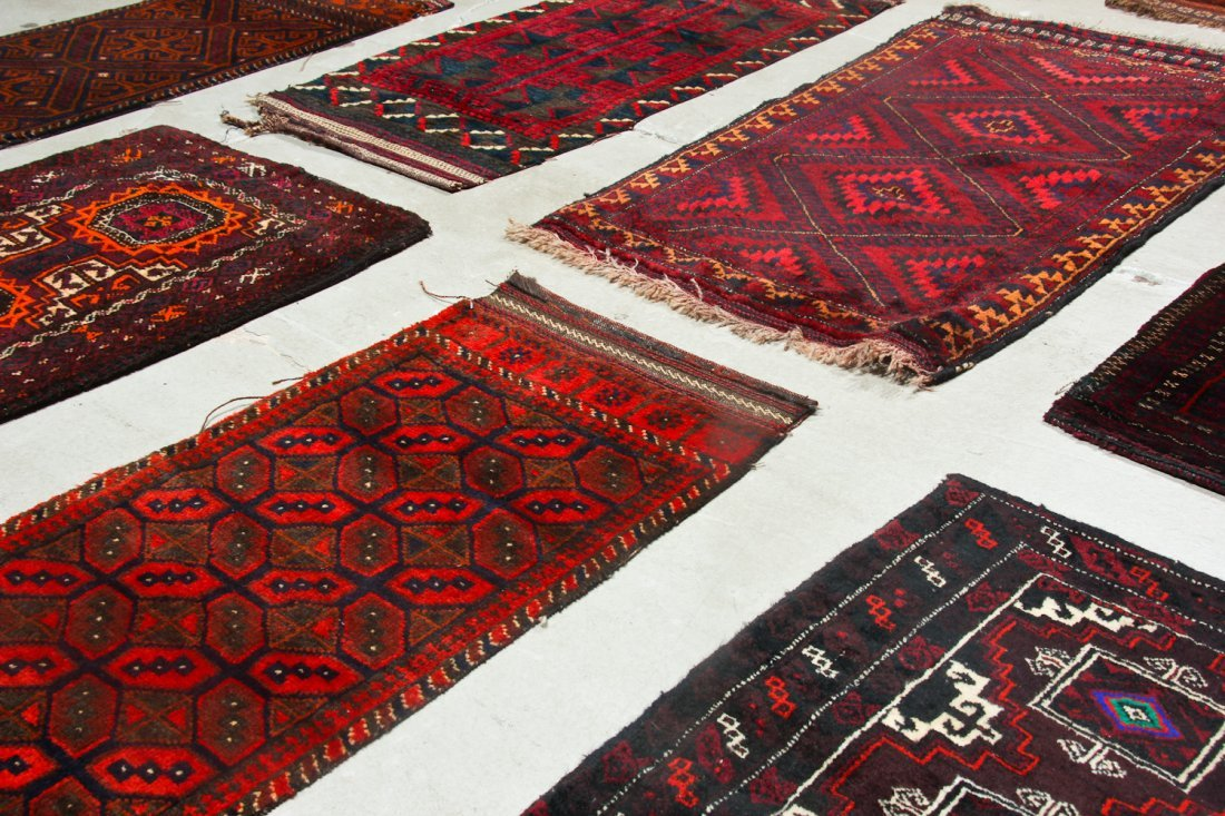 11 Old Afghan Beluch Small Rugs - 6