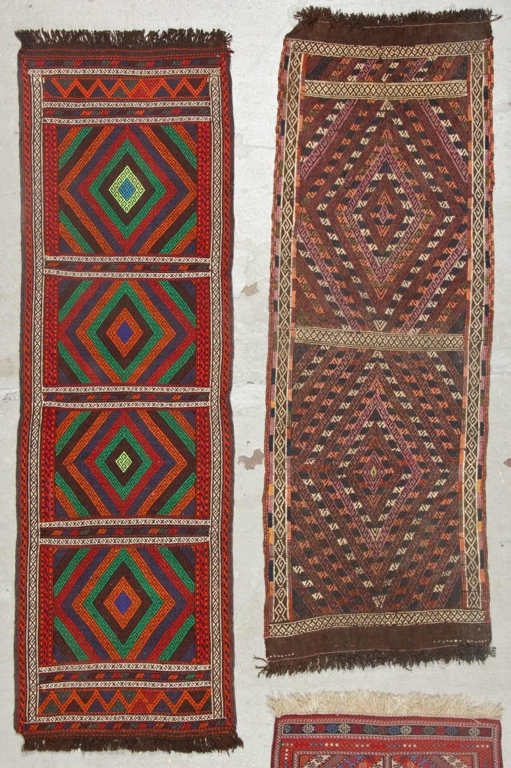 4 Old/Vintage Central Asian/Persian Flat-Weaves - 2