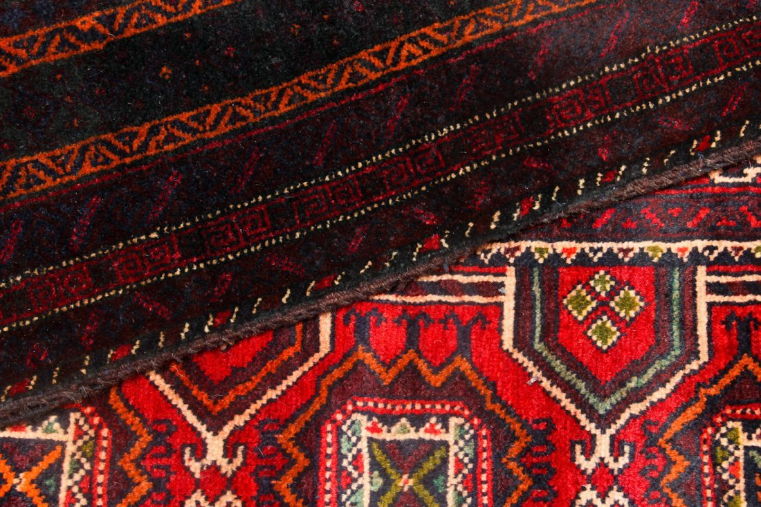 4 Old Afghan Beluch Small Rugs - 4