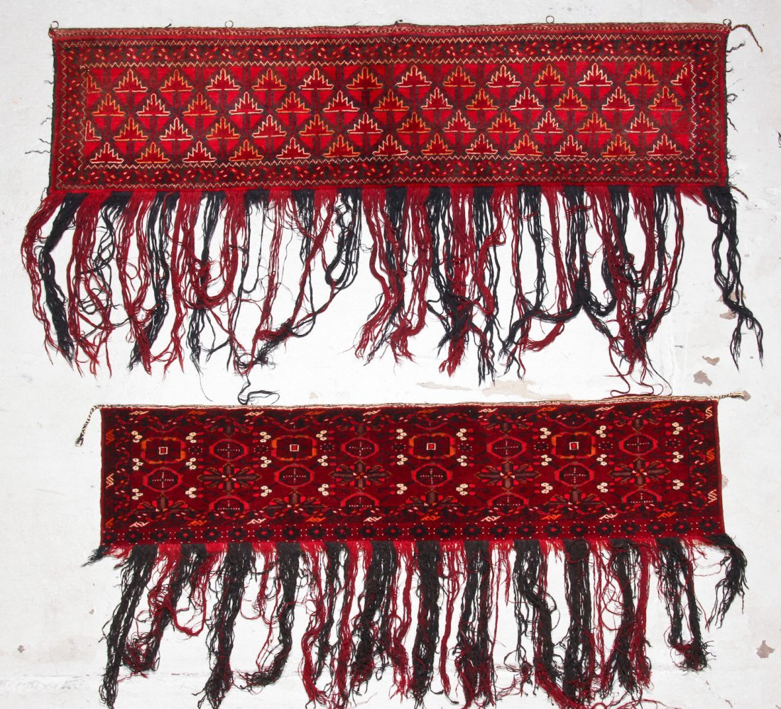 8 Old Central Asian/Turkmen Trappings - 7