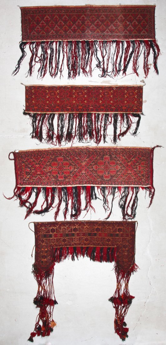 8 Old Central Asian/Turkmen Trappings - 9