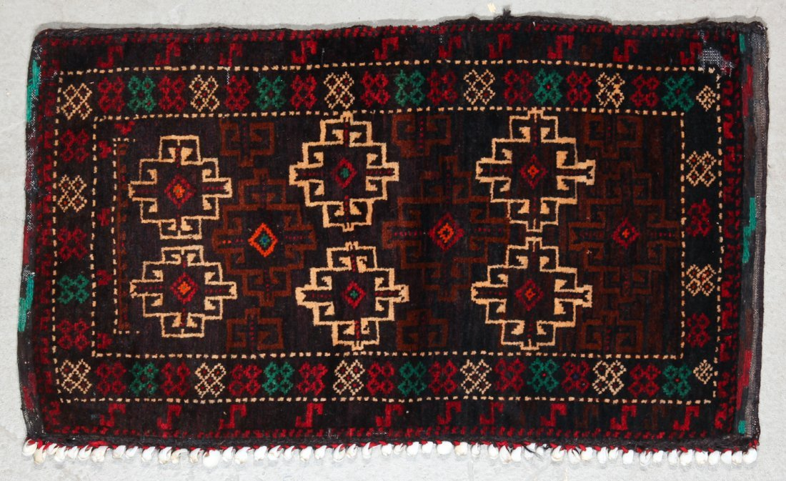 3 Old Afghan Small Rugs - 2