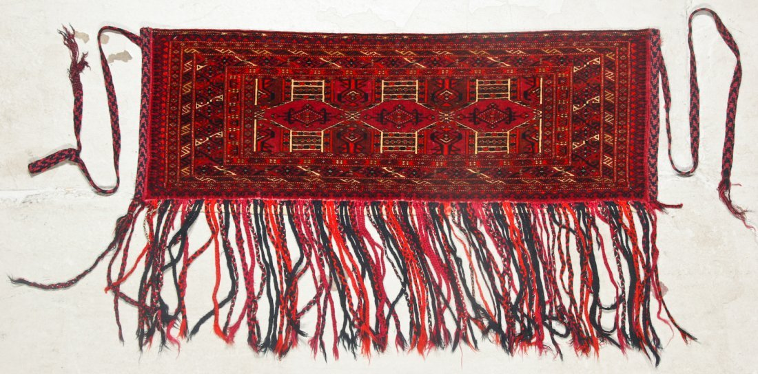 3 Antique Turkmen Trappings - 2