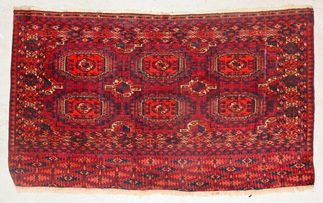 3 Antique Turkmen Trappings - 3