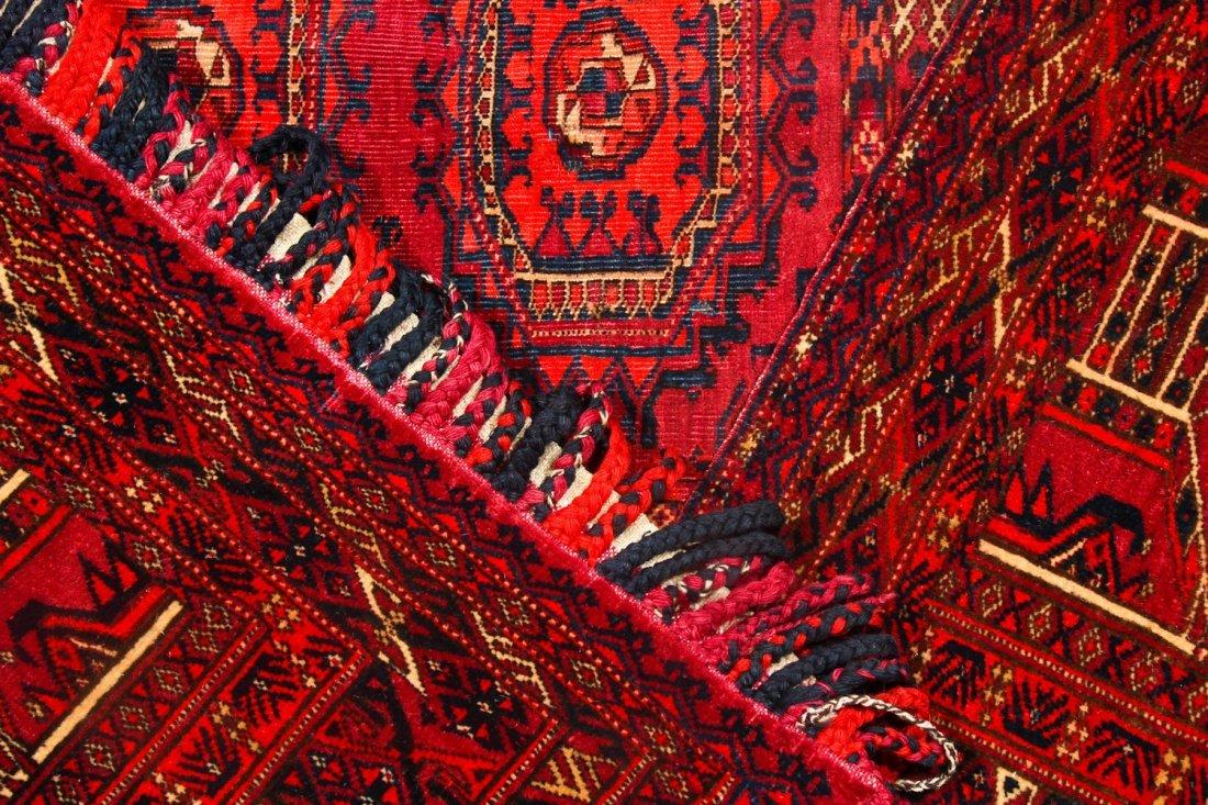 3 Antique Turkmen Trappings - 5