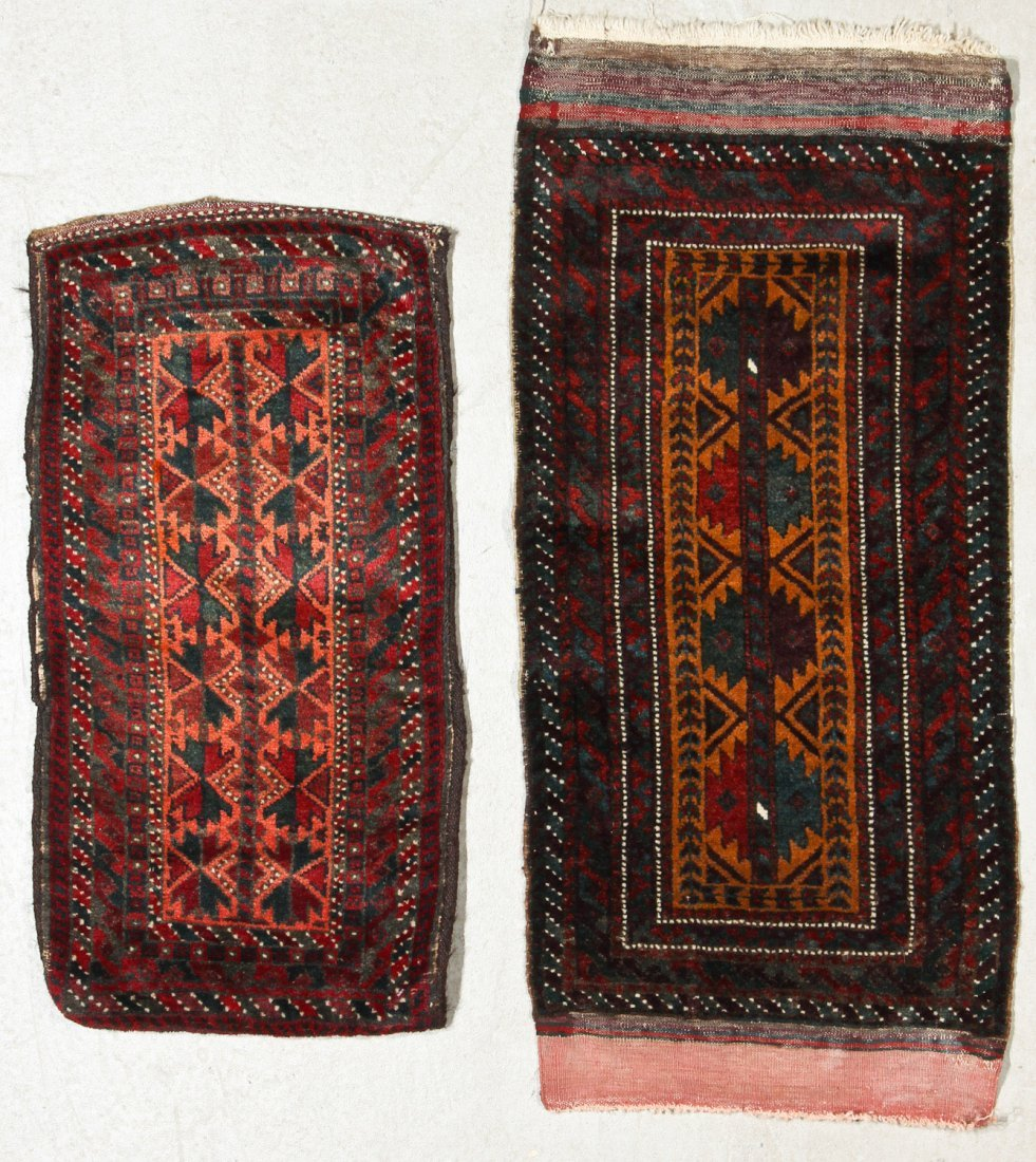 4 Old Beluch Small Rugs/Bags - 2