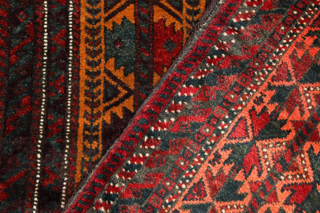 4 Old Beluch Small Rugs/Bags - 3