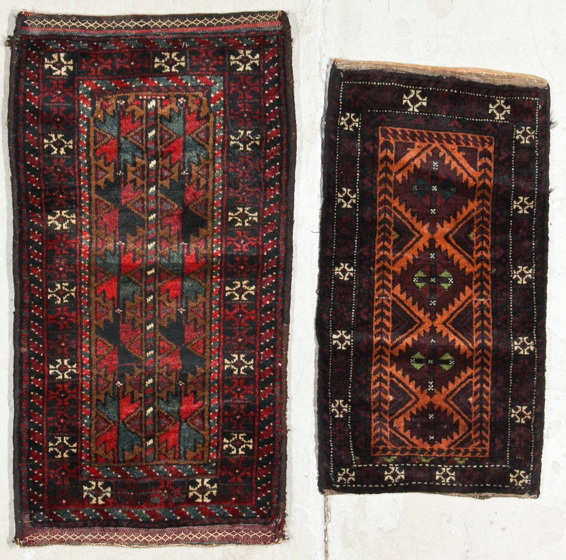 4 Old Beluch Small Rugs/Bags - 4