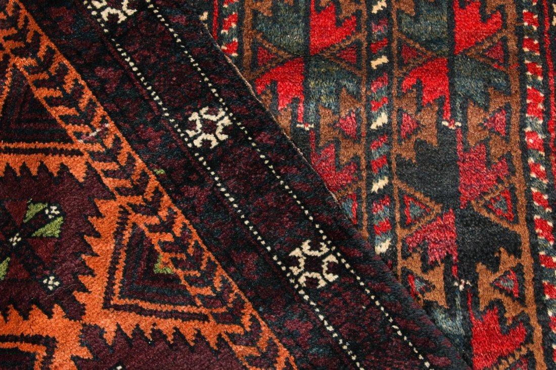 4 Old Beluch Small Rugs/Bags - 5