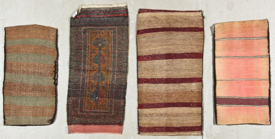 4 Old Beluch Small Rugs/Bags - 6