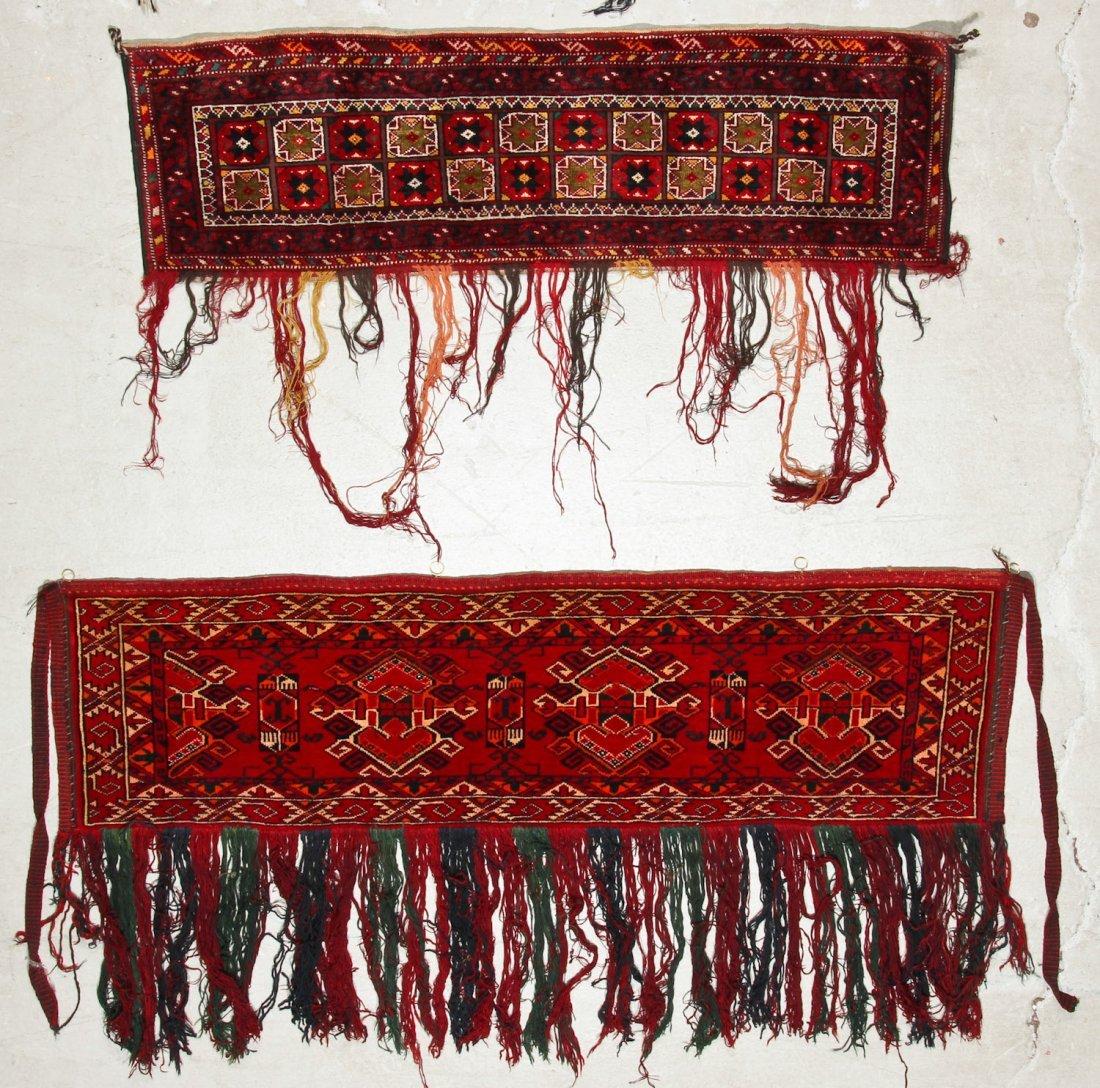 5 Old Turkmen Torba Trappings - 3