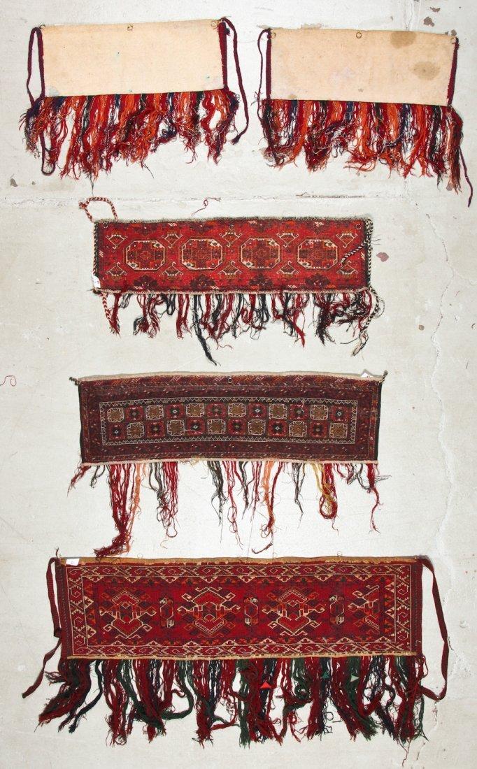 5 Old Turkmen Torba Trappings - 6