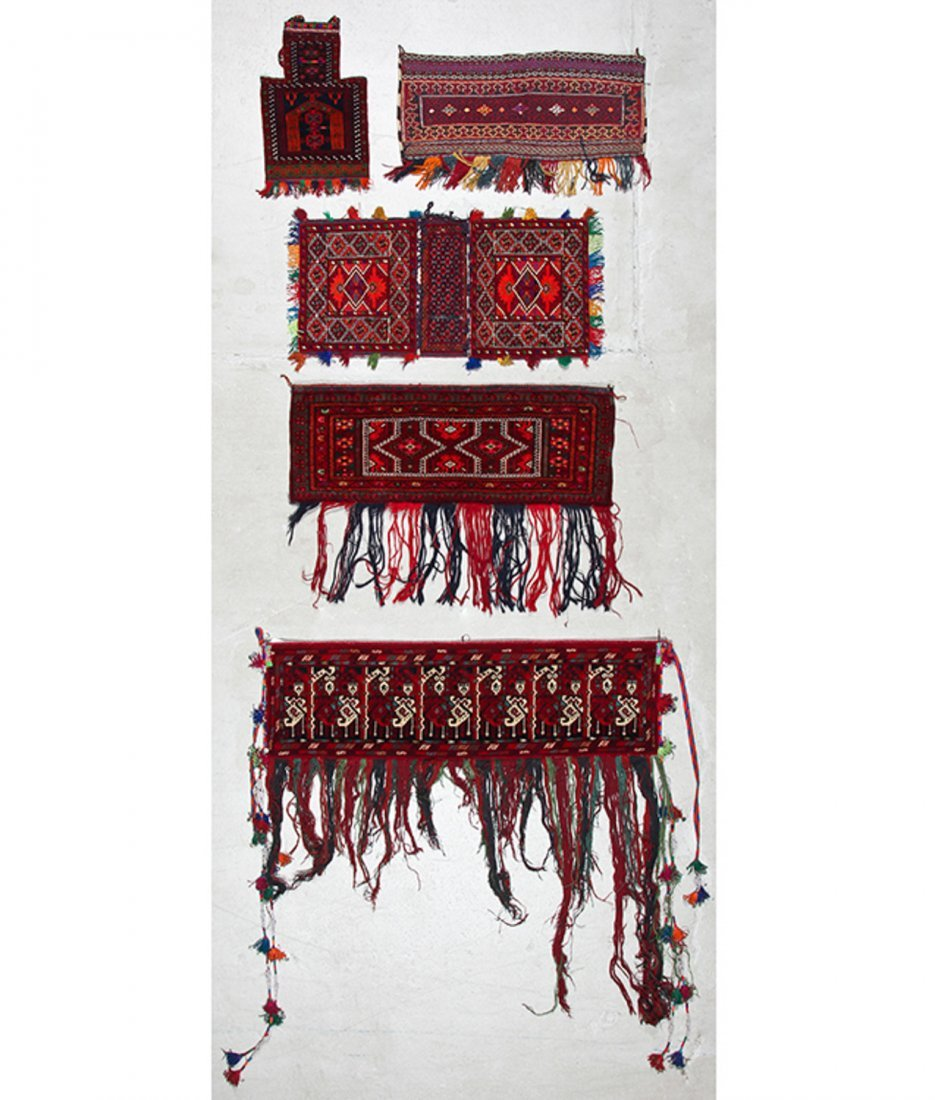 5 Vintage Central Asian Trappings