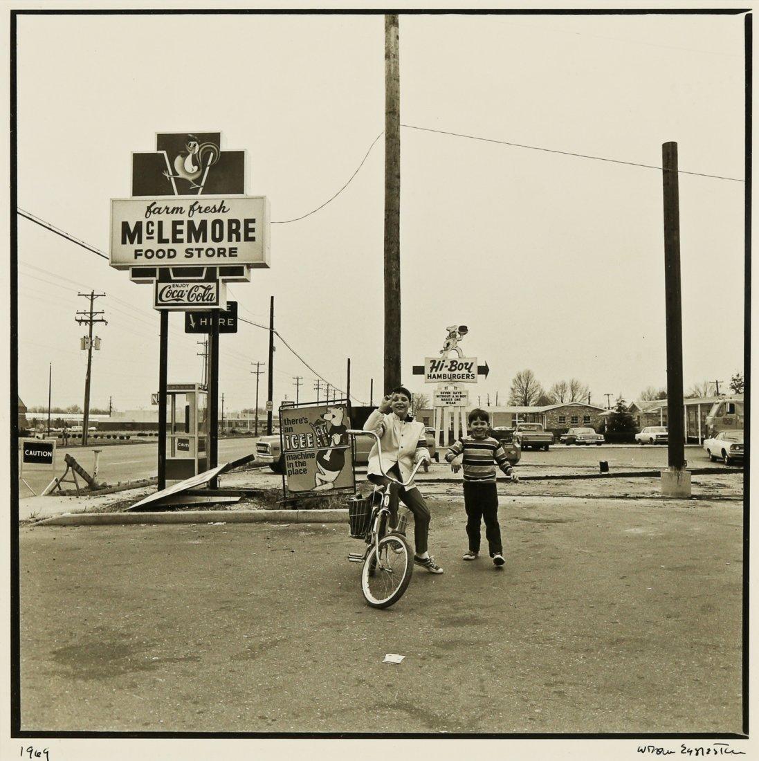 William Eggleston (b. 1939) Silver Gelatin Photograph,