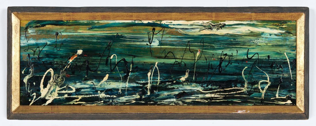Richard Dempsey (1909-1987) Abstract Painting
