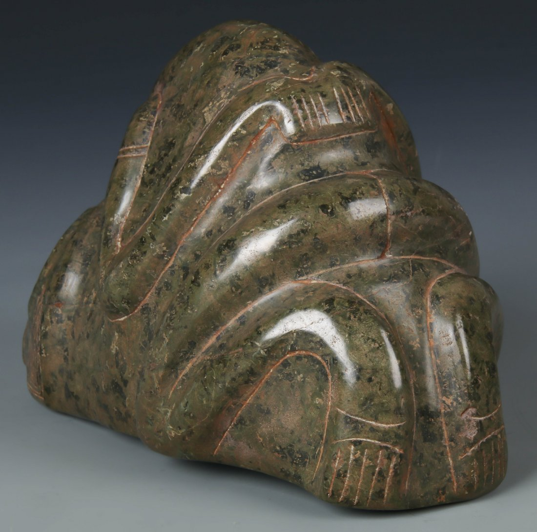 Large Taino Serpentine Frog-Man Form (1000-1500 CE) - 3
