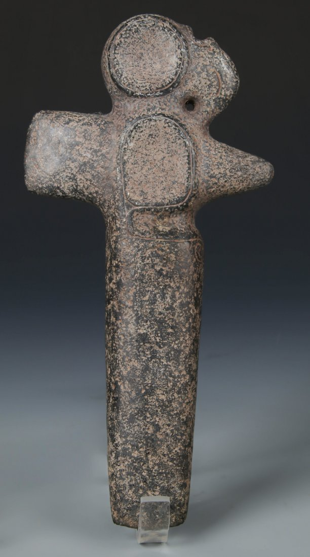 Taino Figural Bird Ax (1000-1500 CE)