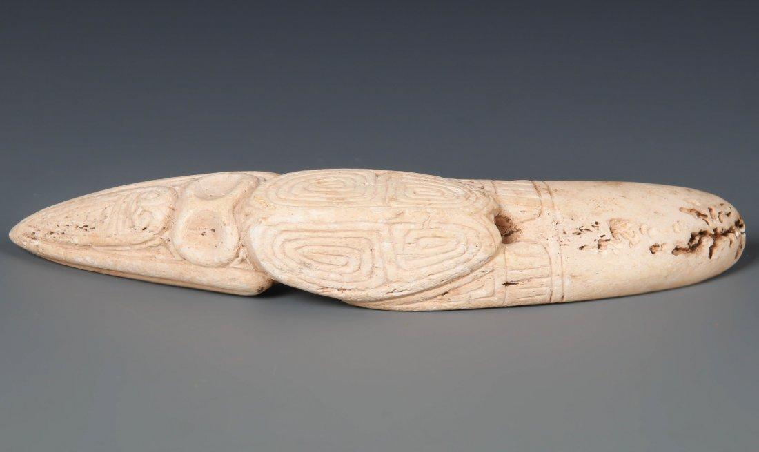 Taino Bird Form Purging Spatula (1000-1500 CE)