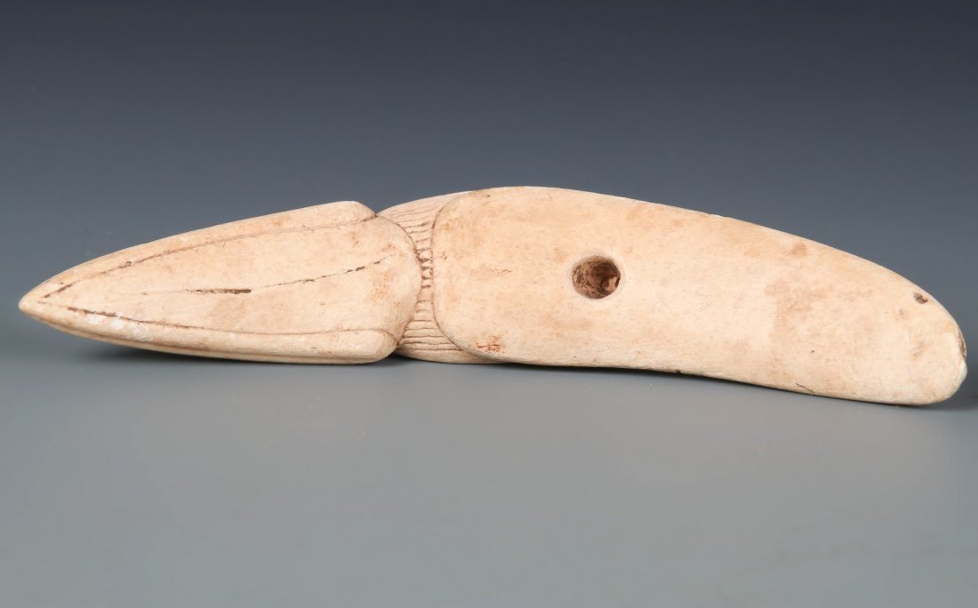 Taino Bird Form Purging Spatula (1000-1500 CE) - 2