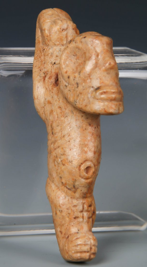 Taino Anthropic Figure w. Contorted Arms (1000-1500 CE)