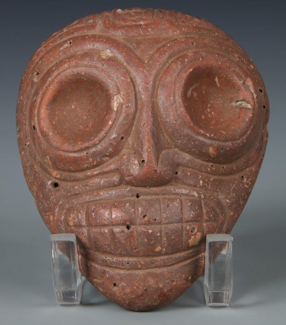 Taino Ancestral Mask Head  (1000-1500 CE)