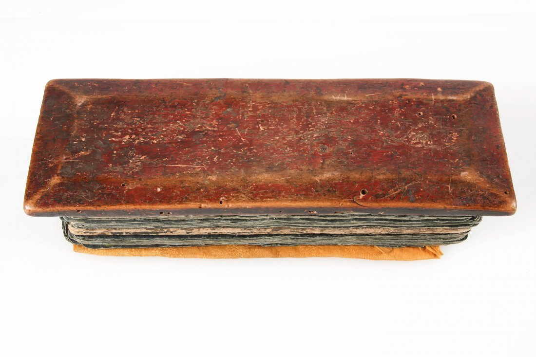Antique Tibetan Prayer Book (Manuscript) - 7