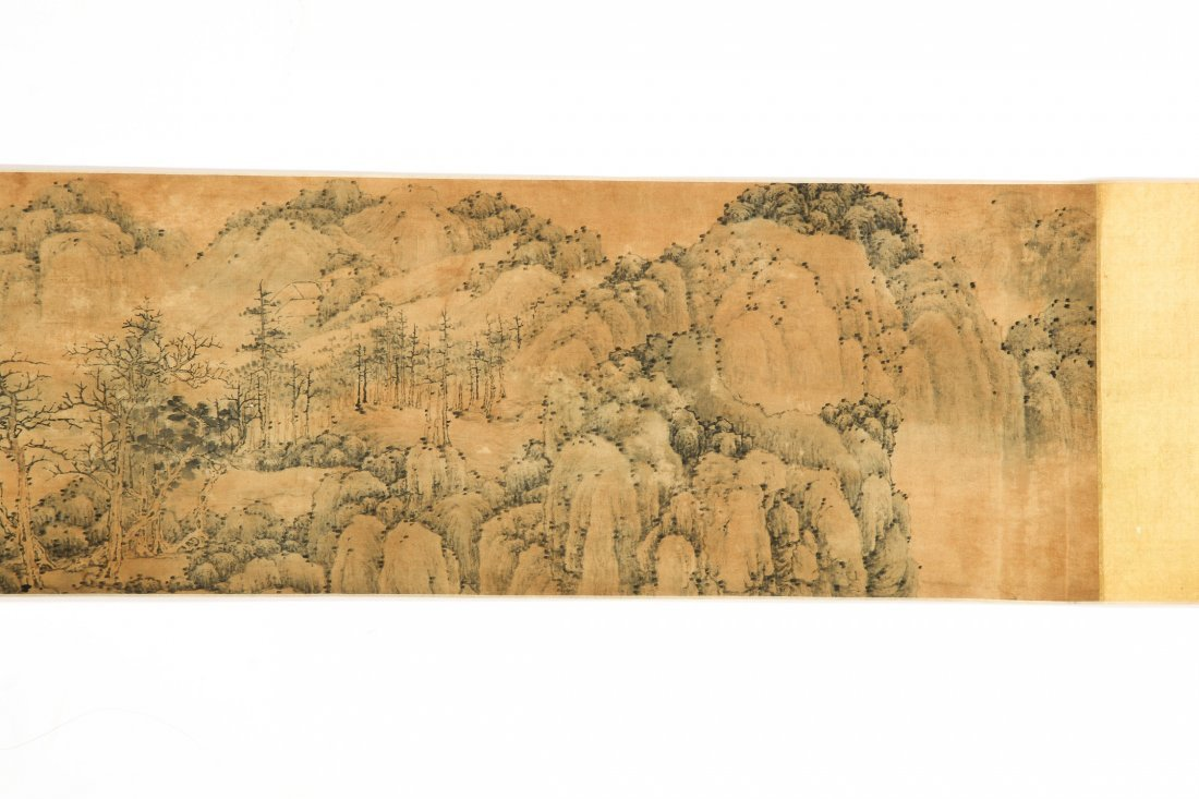 Antique Chinese Scroll Painting, Zhang Zongcang - 4