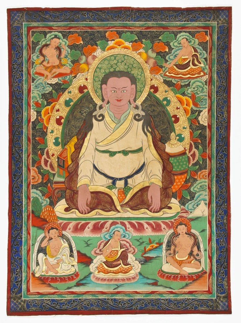 Large Old Tibetan Thangka