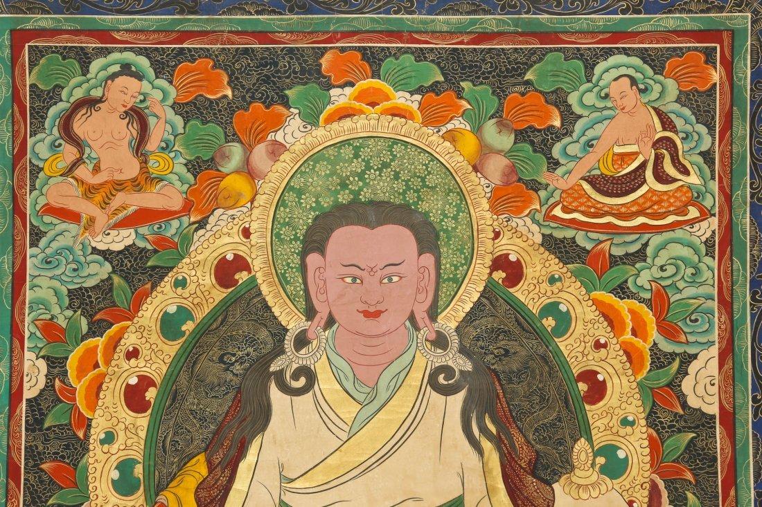 Large Old Tibetan Thangka - 3