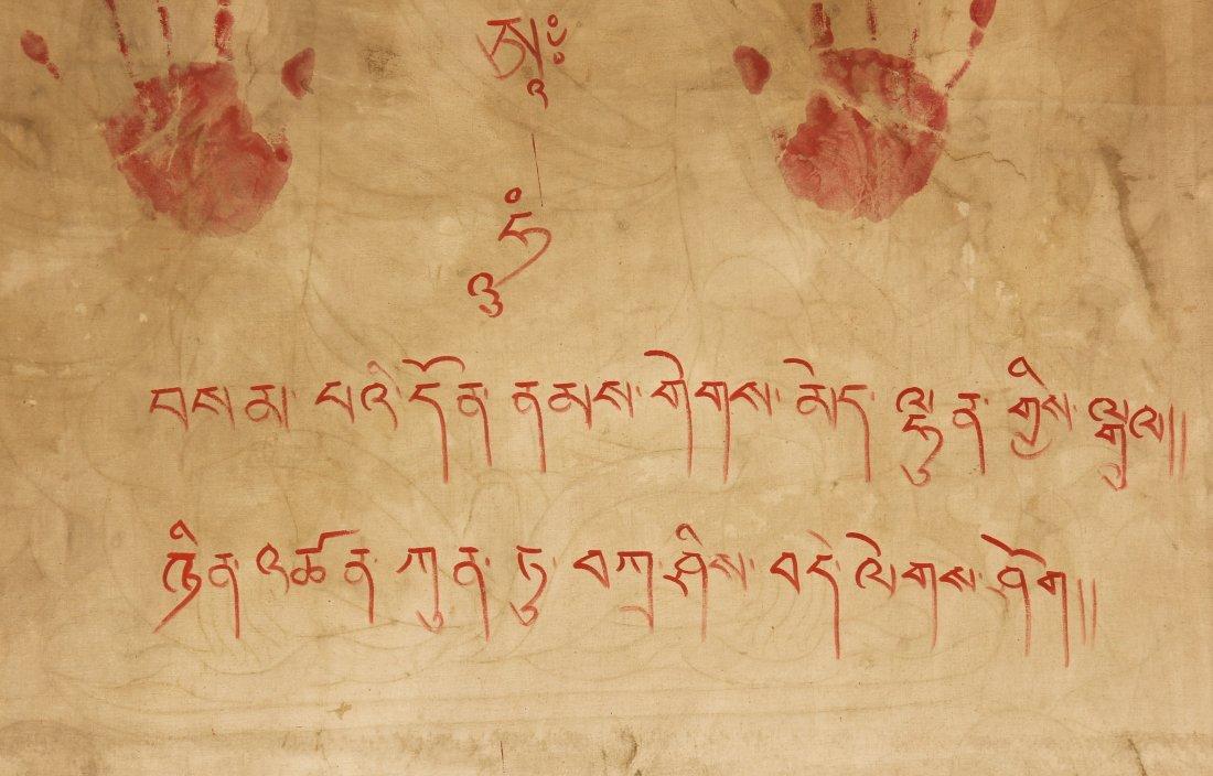Large Old Tibetan Thangka - 8