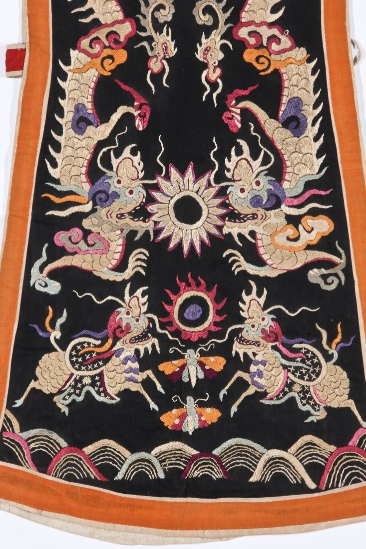 Antique Embroidered Yao Priest's Robe - 2