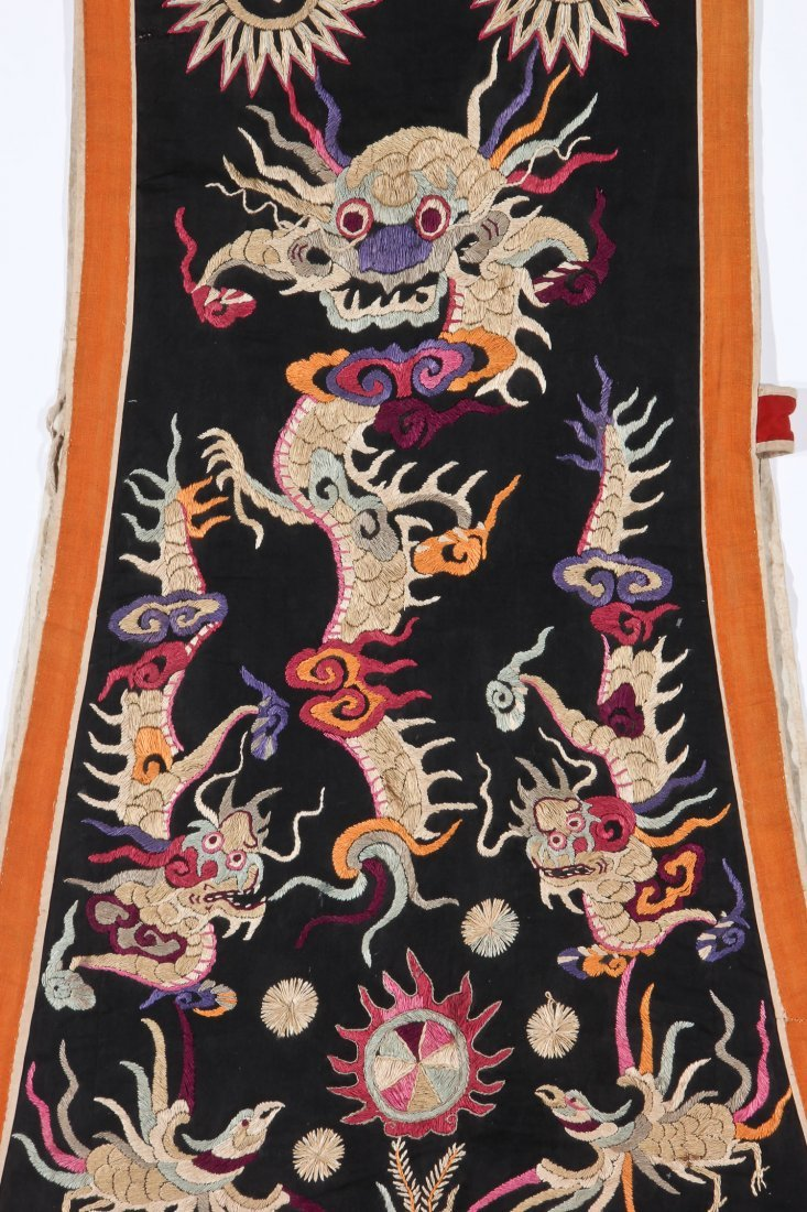 Antique Embroidered Yao Priest's Robe - 7