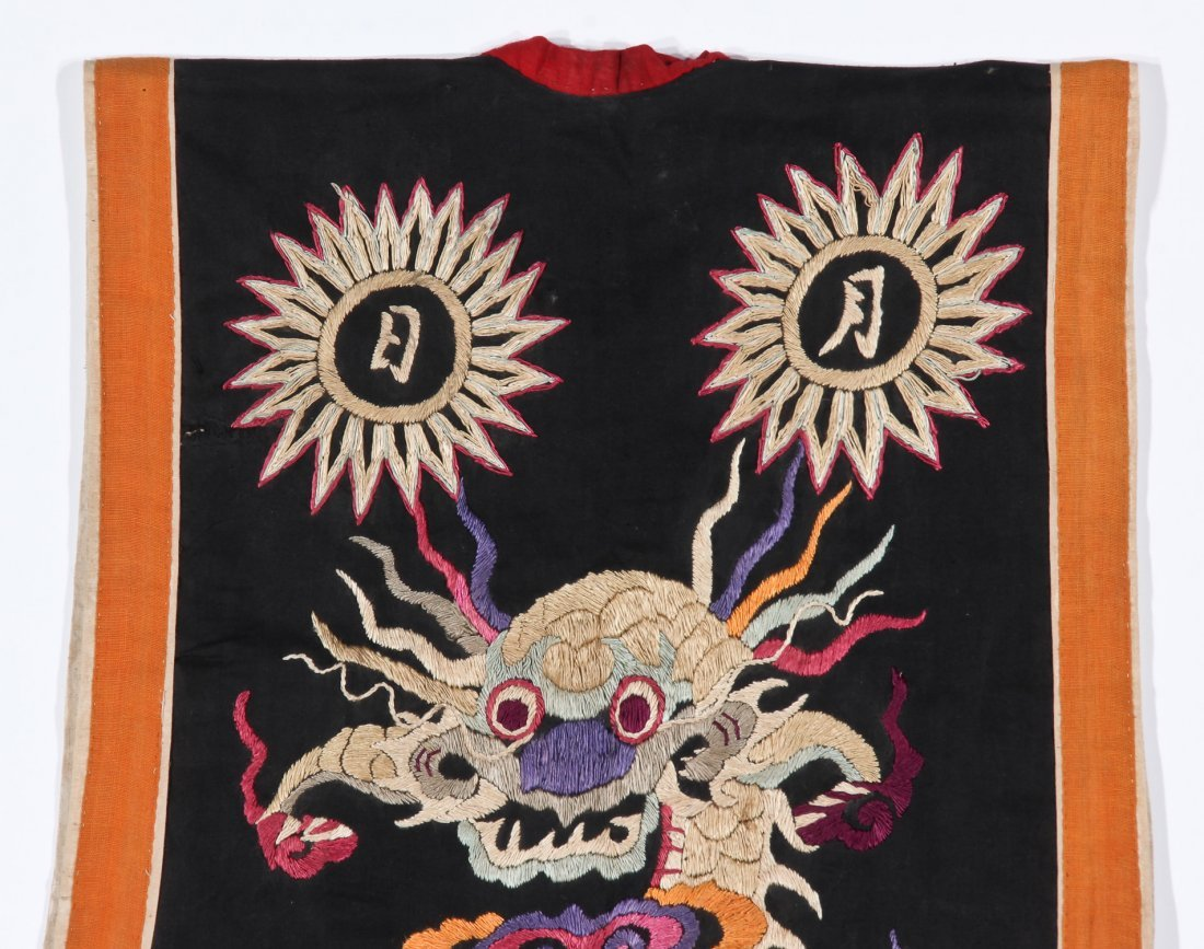 Antique Embroidered Yao Priest's Robe - 8