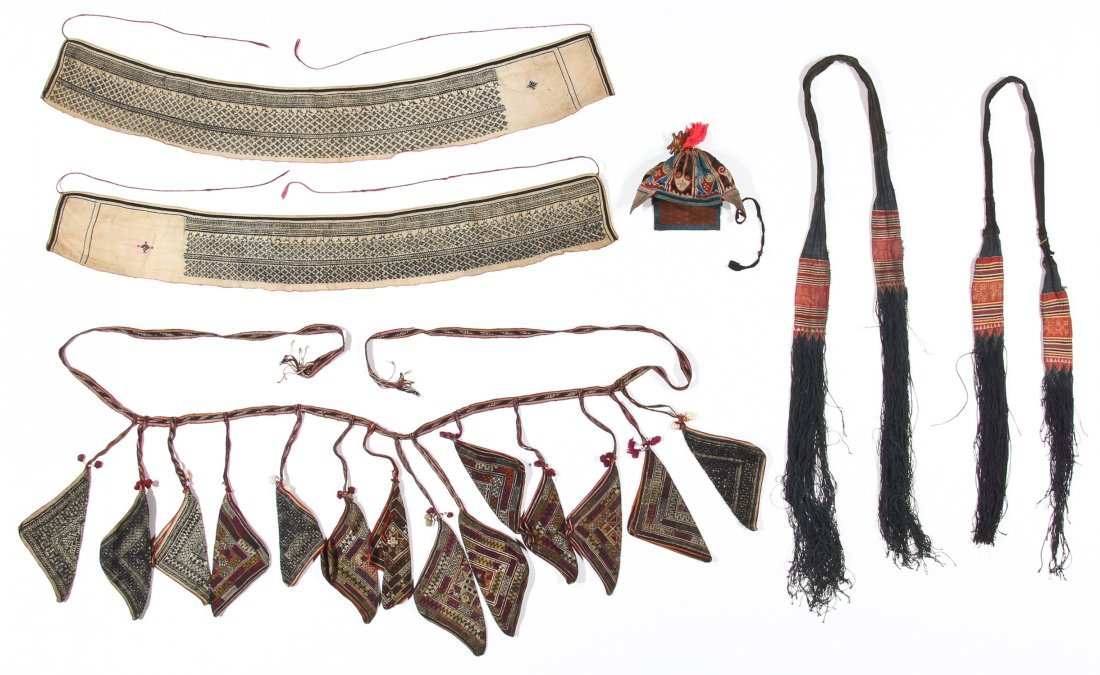 Yao Child's Hat and Priest's Accouterments (6), North